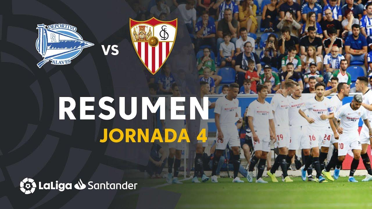 Resumen de Deportivo Alavés vs Sevilla FC (0-1)