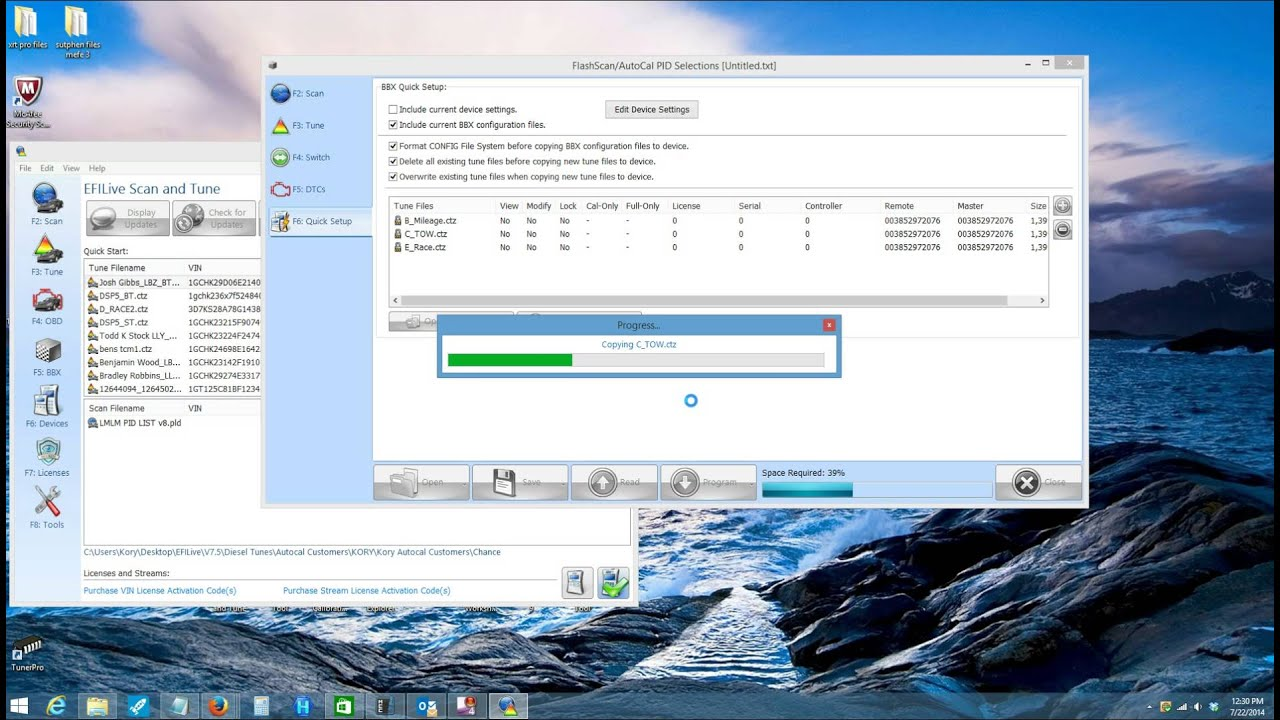 How to Update a PPEI EFILIVE Autocal with Tunes