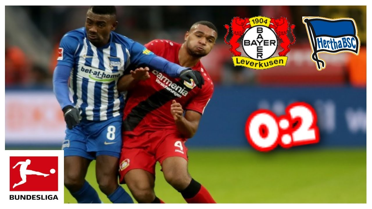 Bayer Leverkusen Hertha