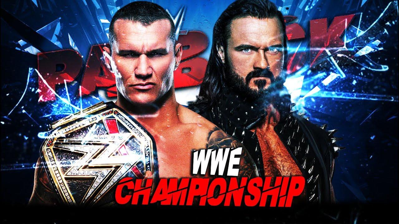 WWE PAYBACK 2020 - EARLY MATCH CARD ...