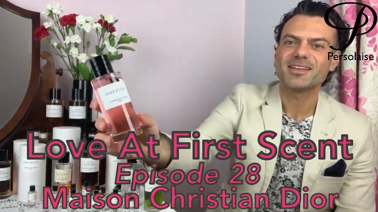 Persolaise - Love At First Scent 28 - Maison Christian Dior - live perfume reviews