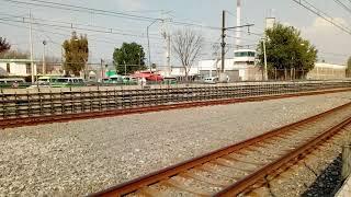Tren FM-86 Entrando a Santa Marta Línea A FM.17/FM.18