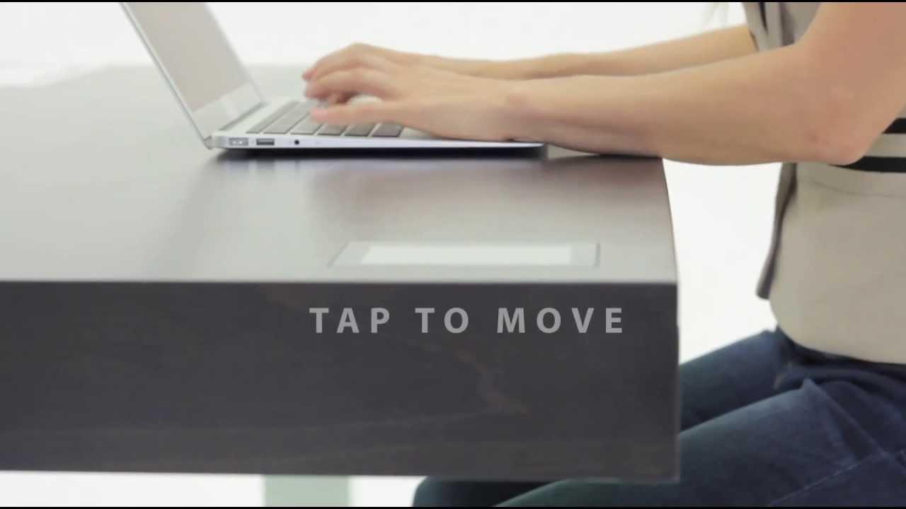 Stir Kinetic Desk F1   How It Works   YouTube