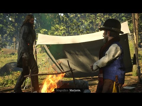 Red Dead Redemption 2 - Chasing Magician Midget Magnifico (RDR2) Ps4 Pro