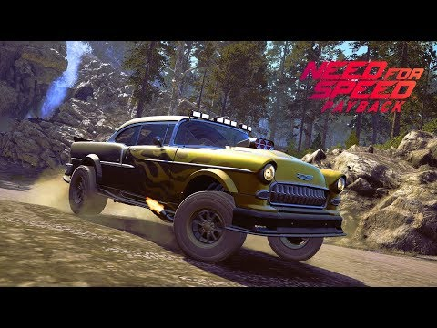 Need For Speed Payback | 1145HP '55 Chevy Bel Air Off Road Racing (Super Build) - PS4 Gameplay