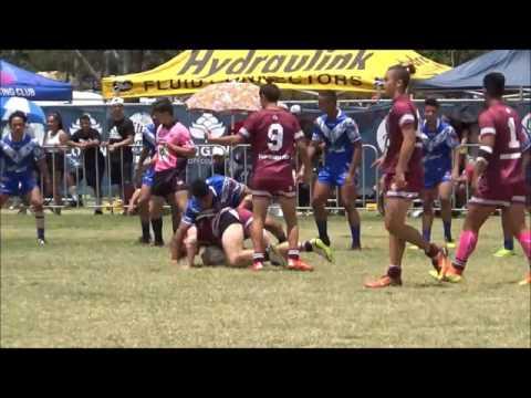 Qld Toa Samoa U14 vs Qld Maori U14 GRAND FINAL 2016