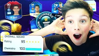 FORFEIT FUT DRAFT CHALLENGE! - ATTEMPTING A CRAZY WORLD RECORD!