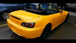 2004 Honda S2000 AP2 Yellow fix and Painting