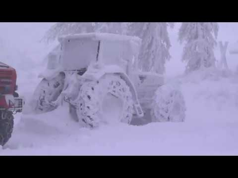 Extreme weather 2019 - Records broken, exceptional snowfall (Austria) - BBC News - 14th January 2019