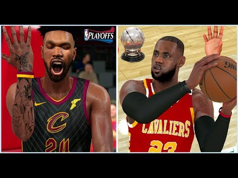 NBA 2K18 MYCAREER - CLEVELAND CAVALIERS ARE EASTERN CONFERENCE CHAMPIONS!!