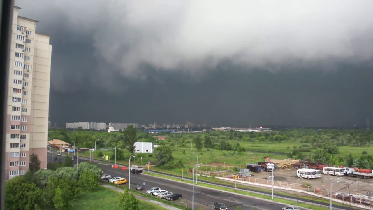 Ураган в Москве и Подмосковье