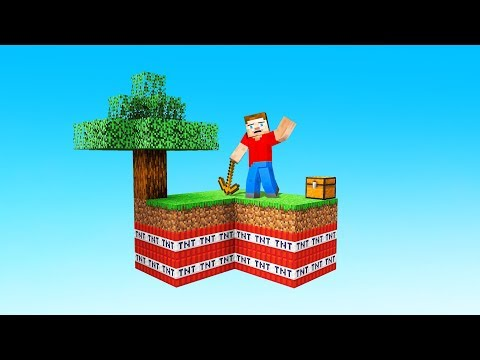 SURVIVING The NEW SKYBLOCK In MINECRAFT (help)