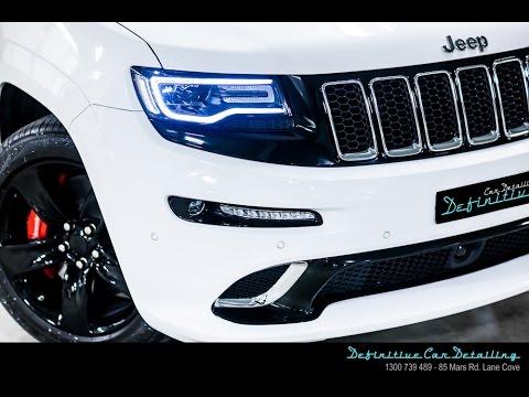 Jeep Grand Cherokee SRT8 Definitive Sydney Opti Coat Spray Gun Permanent Paint Protection Treatment