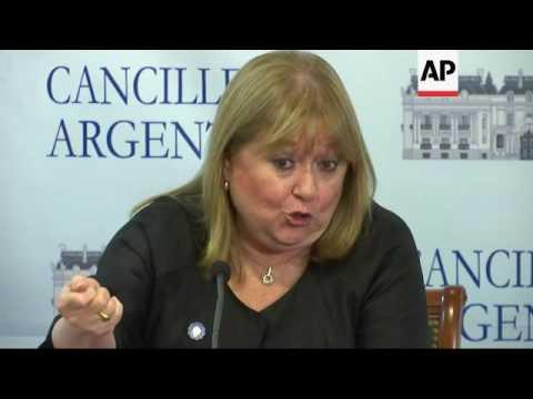 Argentine FM on Trump call, EU