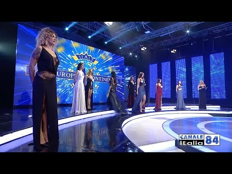 FINALE NAZIONALE MISS EUROPE CONTINENTAL 2018