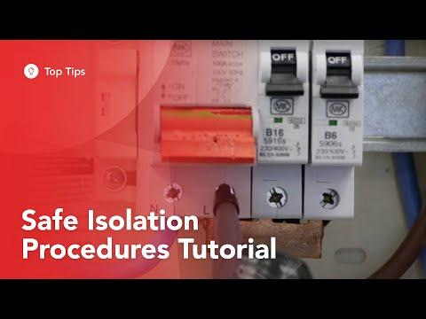 Safe Isolation Procedures Tutorial From TradeSkills4U
