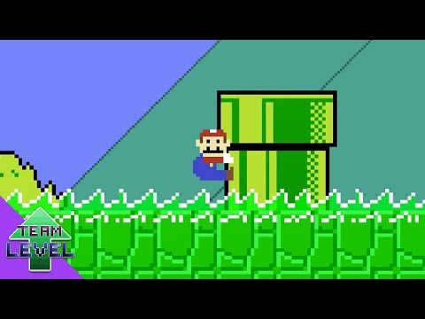 Super Mario Bros. but the floor is Acid!