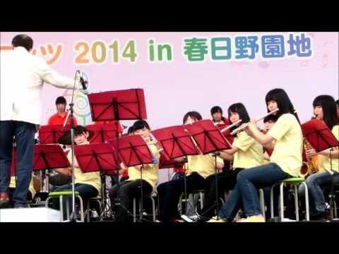 奈良市立一条高校吹奏楽部 大仏と鹿