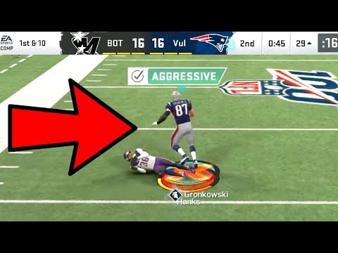 Rob Gronkowski DOUBLE ME ACTIVATED! Madden 20 Ultimate Team Gameplay