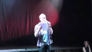 Tobias Dalager - Hemmelig Agent - DM i Poetry Slam 2012