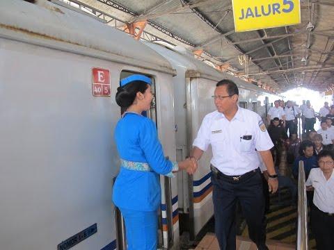 BERITA KA: Kunjungan Dirut PT KAI ke Stasiun Tugu Yogyakarta