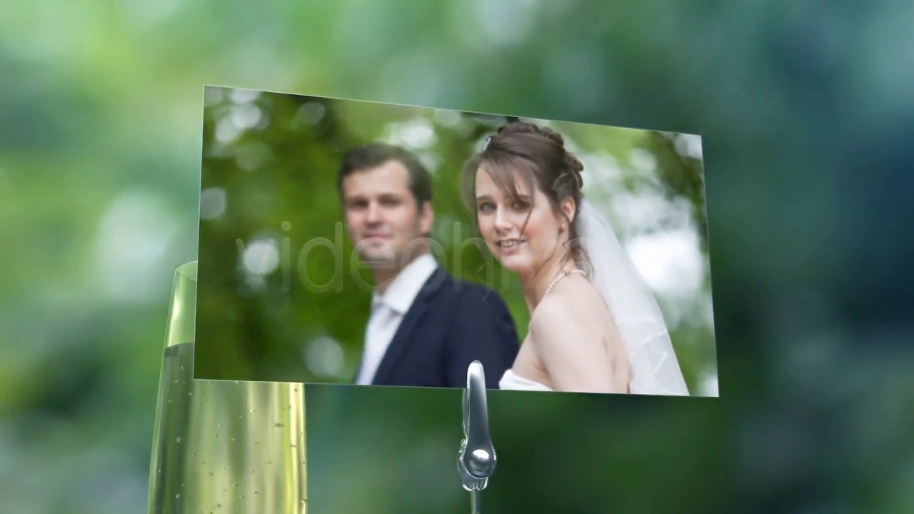 Garden Wedding Photo Gallery – OUR WEDDING TEMPLATE FOR AFTER EFFECTS