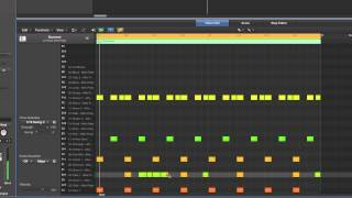 Logic Pro X Electronic Drummer tracks tutorial 7/10