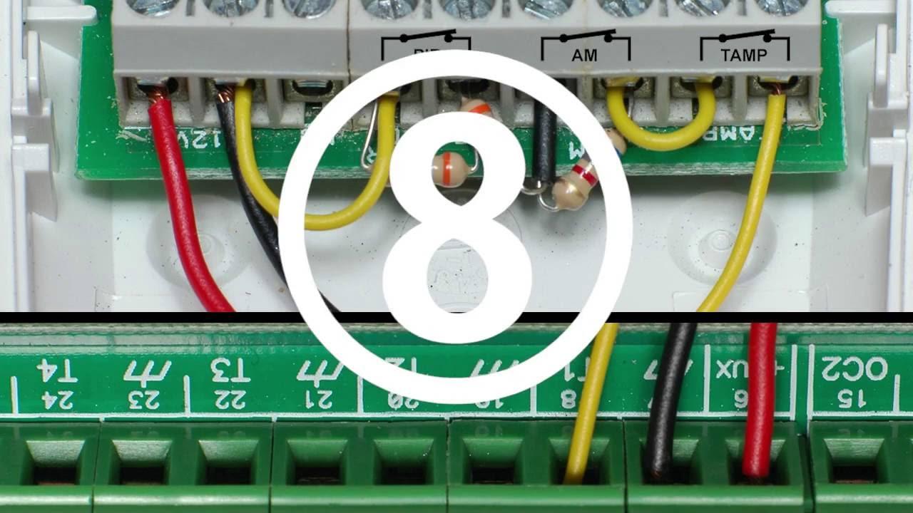 Schema Collegamento Bentel Absoluta : Otto modi di collegare un sensore movimento a doppia