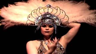 Xarah burlesque show showreel