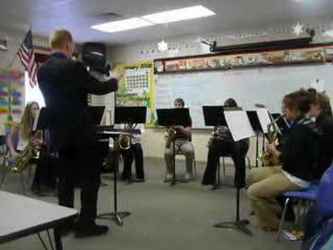 New Lisbon High School Sax Choir 2008