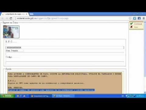 Manual para Imprimir Talones ISSSTE de YouTube · Duración:  2 minutos 7 segundos