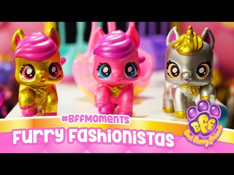 Furry Fashionistas #BFFMoments - Best Furry Friends | Stop Motion Cartoon for Kids