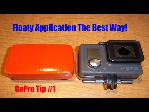 GoPro Floaty Backdoor Application//Pro tip #1