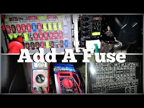 Add a Fuse: Hardwire Fuse location for 9thgen Honda Accord - YouTube