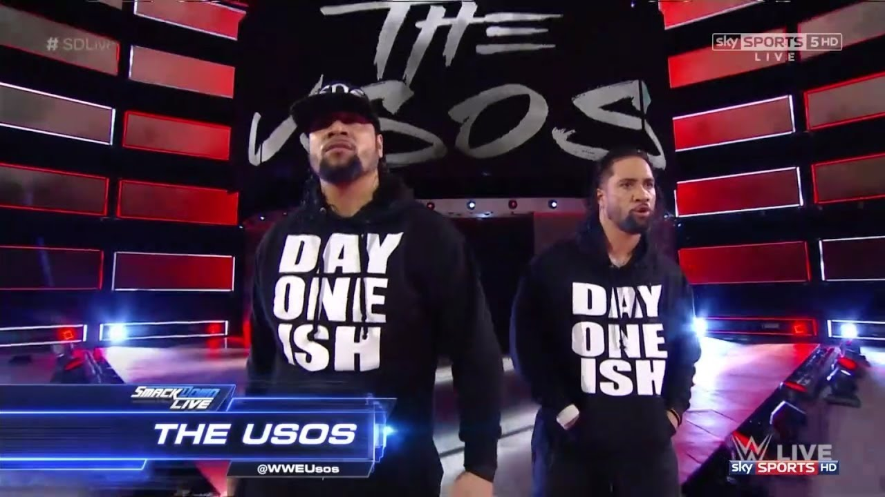 Wwe the usos new theme song day one remix 2017 official - The usos theme song so close now ...