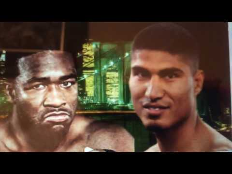 Adrien Broner vs Mikey Garcia conference call