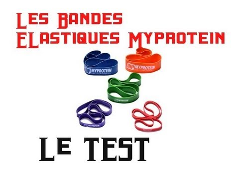 Test accessoire musculation :  bandes...