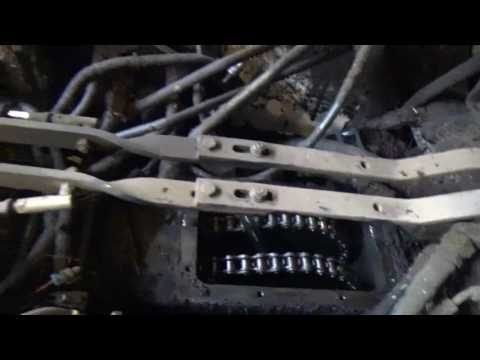 Bobcat 763 wheel bearing repair.
