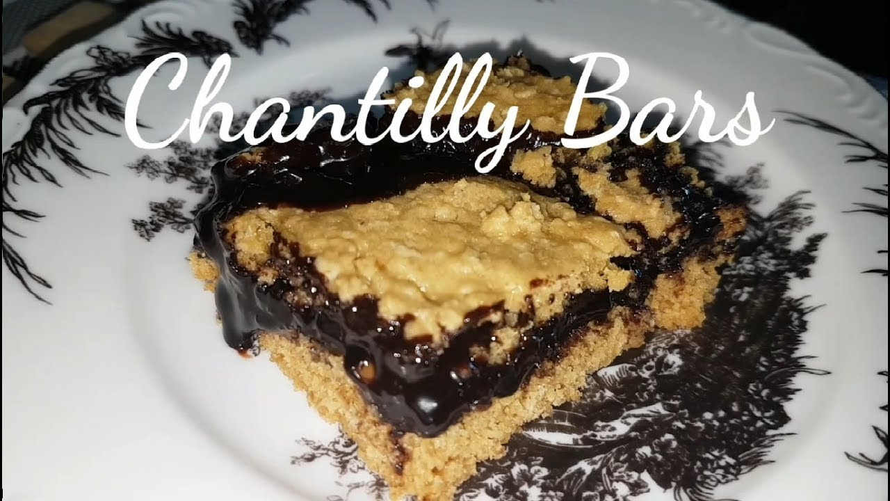 how to make chantilly bars