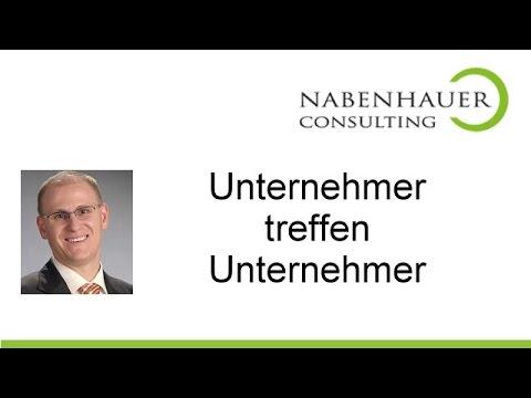 Unternehmer treffen - Nabenhauer Consulting organisiert \