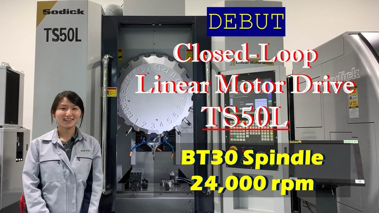 New small sized, Sodick Hi-Speed 3 axis BT30  CNC mill; Expected NA release in 2022.