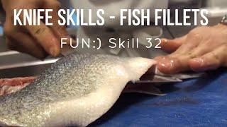 Knife Skills - Cutting Fish [Skill 032]