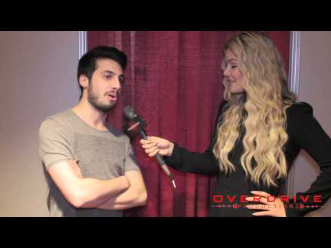 Alex from Cash Cash Interview with Tori Deal - Overdrive Productions 2015