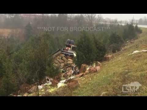 11-27-15 Fordland, Missouri Slick HWY 60 Rollover