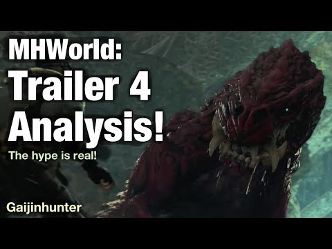 Monster Hunter World: Trailer 4 Analysis!