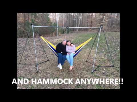 the ultimate hammock stand the ultimate hammock stand   youtube  rh   youtube