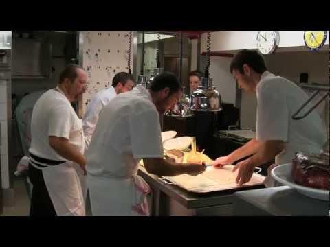 Service at 3 Michelin star Auberge du Vieux Puits
