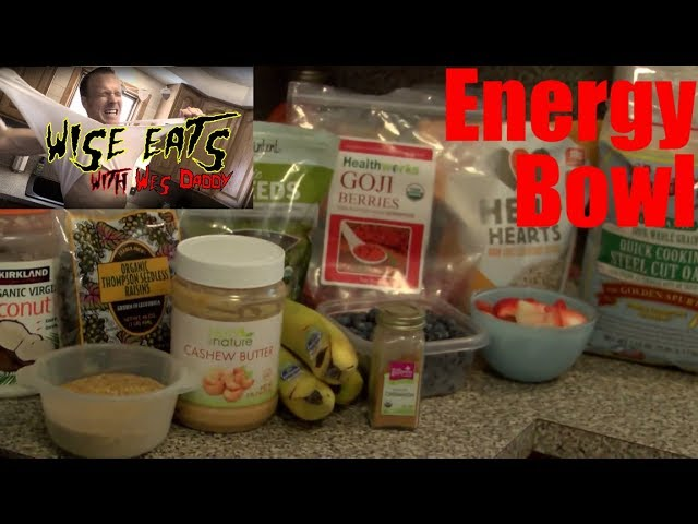 Wise Eats Energy Bowl – Healthy Breakfast for Energy, Focus, Mood, and Performance!