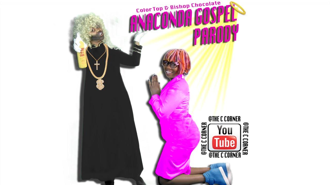 Nicki Minaj - Anaconda PARODY (anak kota) w/ BAYU SKAK