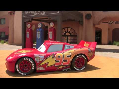 Pixar Cars Area at Disney's Art of Animation Resort